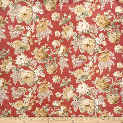 Fabricut Small Wonder Rouge