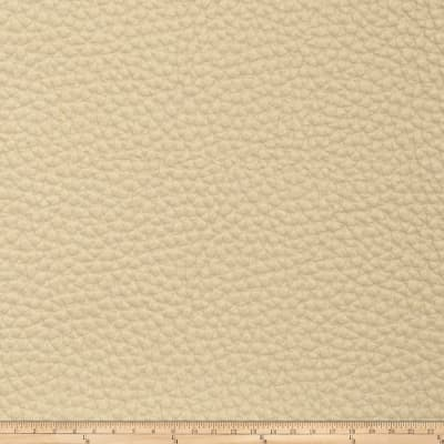 Fabricut Steel Faux Leather Parchment