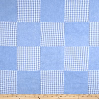 Fabricut Sweet Patchwork Blue