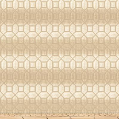 Fabricut Tempranillo Faux Silk Cream