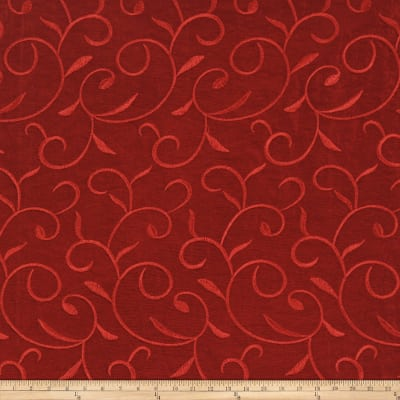 Fabricut Treat Taffeta Ruby