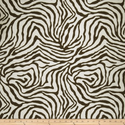 Fabricut Zebra Crossing Outdoor Pebble