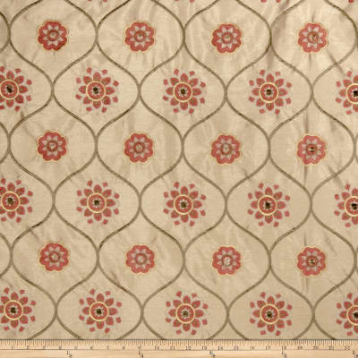 Jaclyn Smith 2096 Faux Silk Terra Cotta