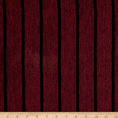 Hatchi Knit Mini Black Stripes/Burgundy