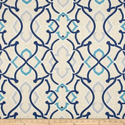Indoor/Outdoor Linked Indigo