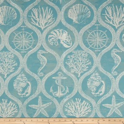 Covington Outdoor Solution Dyed Shoreham Aquamarine