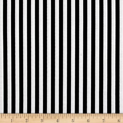 "Riley Blake 1/4"" Stripes Black"