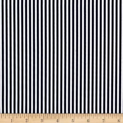 "Riley Blake 1/8"" Stripes Navy"