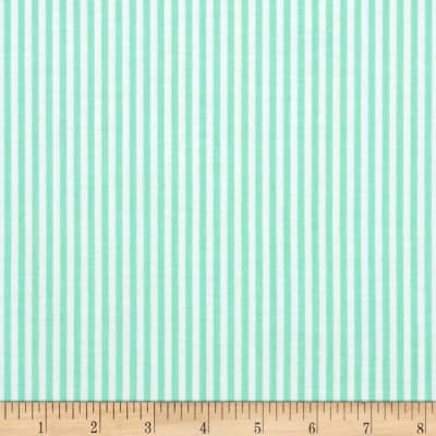 "Riley Blake 1/8"" Stripes Sweetmint"