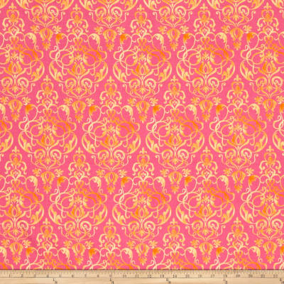 Riley Blake Paige's Passion Scroll Pink