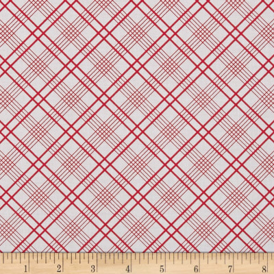 penny rose gingham girls plaid white discount designer fabric. Black Bedroom Furniture Sets. Home Design Ideas