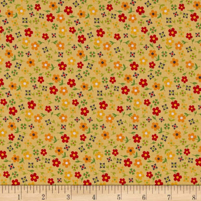 Penny Rose Gingham Girls Calico Yellow