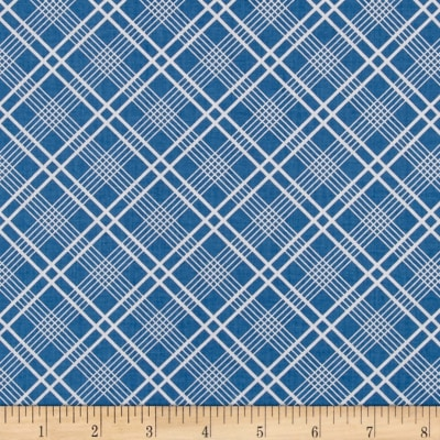 Penny Rose Gingham Girls Plaid Blue