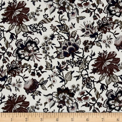 Liberty Fabrics Classic Tana Lawn Christelle White/Purple