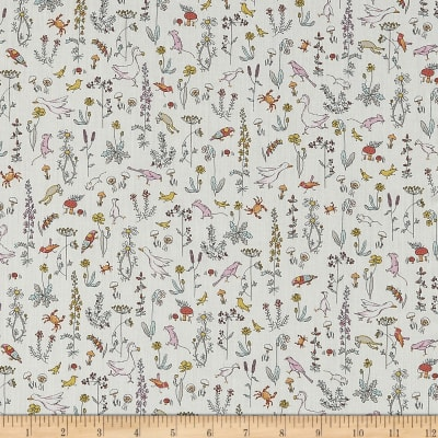 Liberty Fabrics Contemporary Classic Tana Lawn Theo Cream