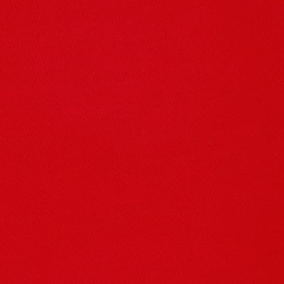 Fabric Merchants Rayon Challis Solid Red Fabric