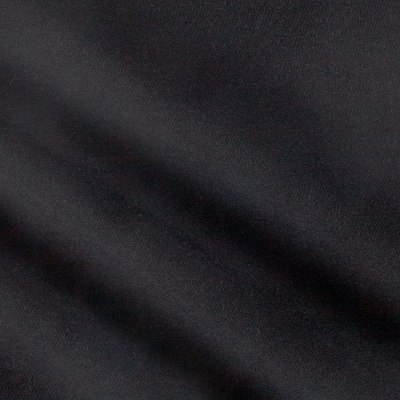 Fabric Merchants Rayon Challis Solid Black