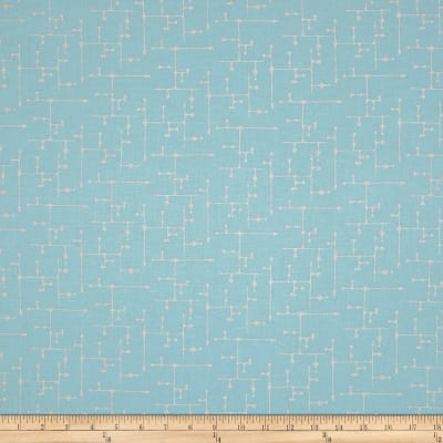 Gloria Star Grid Blue