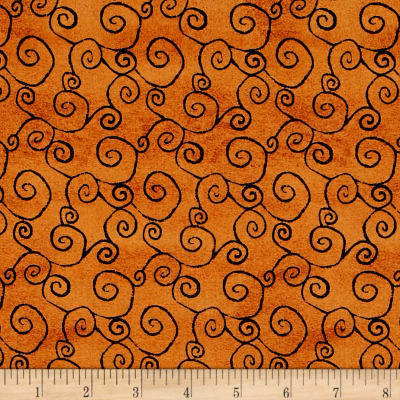 DT-K Signature Witchy Swirl Orange