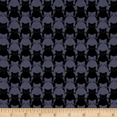 Yolanda Fundora Kitty Kitty Tonal Cat Black