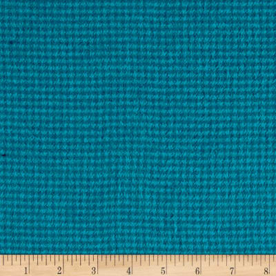 Local Color Yarn Dyed Flannels Houndstooth Turquoise