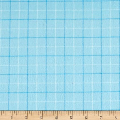 Local Color Yarn Dyed Flannels Tattersall Light Blue