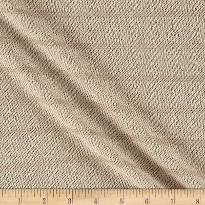 Sweater Knit Stripe Taupe