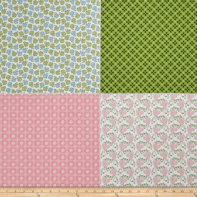 "Riley Blake Sew Cherry 2 Fat Quarter 35.5"" Panel"