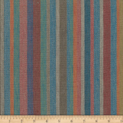 Laura & Kiran Southwest Stripe Pueblo Blue Multi