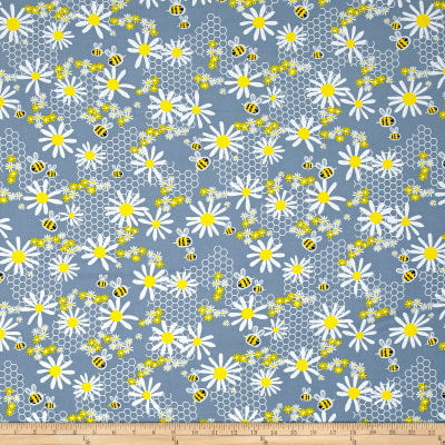 Kanvas Bumble Bumble Daisy Bee Grey
