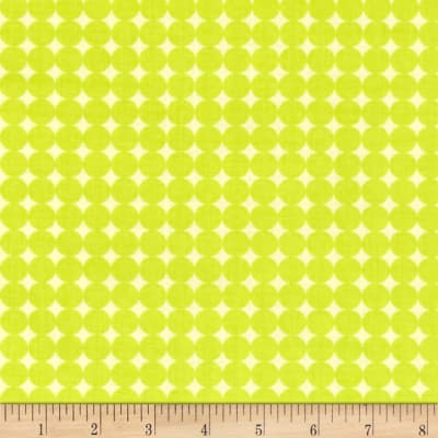Contempo Owls And Pals Round Grid Lime