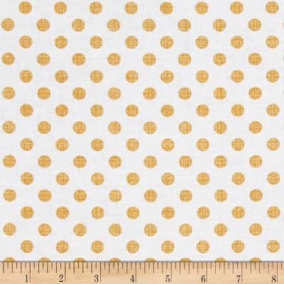 Contempo Owls And Pals Dot Weave Mango