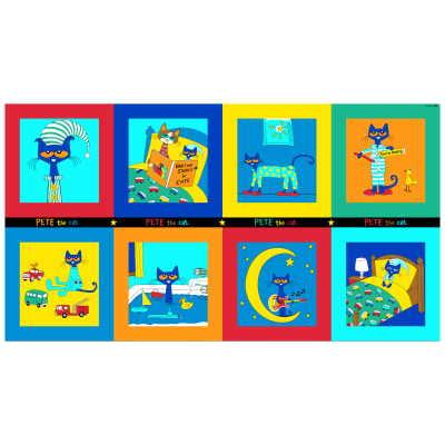 "Pete The Cat 24"" Panel Multi"