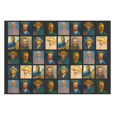 "Kaufman Vincent Van Gogh Digital Faces 24"" Panel Multi"