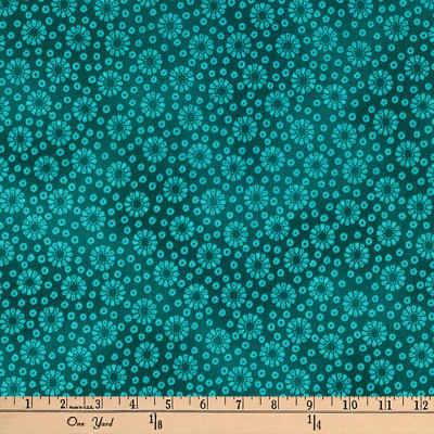 Kaufman Imperial Collection Geo Teal