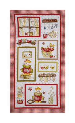 "Country Cuisine 23"" Panel Multi"
