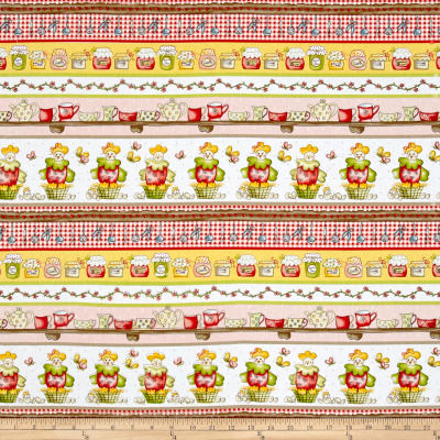 Country Cuisine Novelty Stripe Multi
