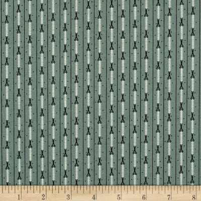 Primitive Stitches Scissor Stripe Light Blue