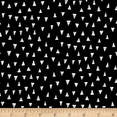 Monochrome Triangles Black