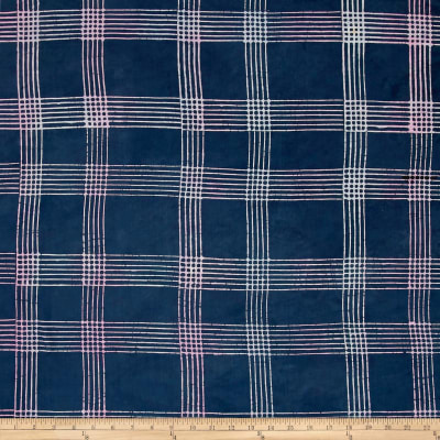 Alison Glass Handcrafted Batiks Chroma Plaid Shadow