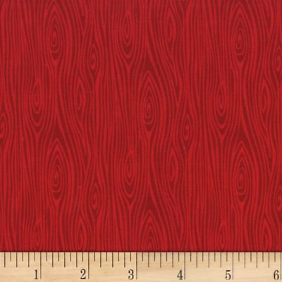 Michael Miller Tools Of The Trade Just Wood Knot Red