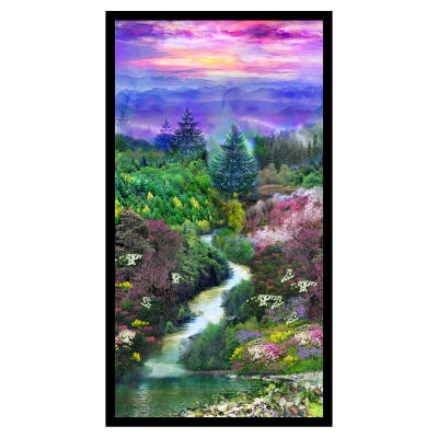 "Mountain View Digital Riverview 24"" Panel Multi"