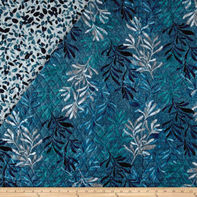 Denim Blues Double Sided Quilted Multi