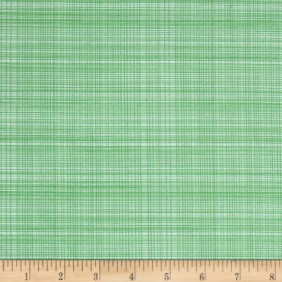 Hand Picked Organic Grid Green