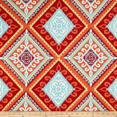 Terrasol Outdoor Spanish Tile Red/Orange
