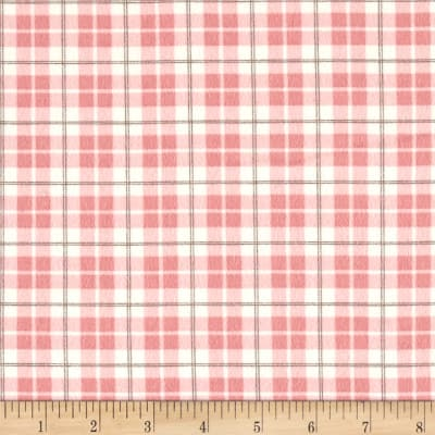 Moda Lily & Will Revisited Flannel Posh Plaid Pink