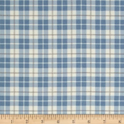 Moda Lily & Will Revisited Flannel Posh Plaid Blue