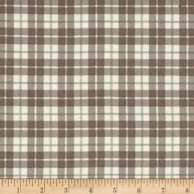 Moda Lily & Will Revisited Flannel Posh Plaid Gray