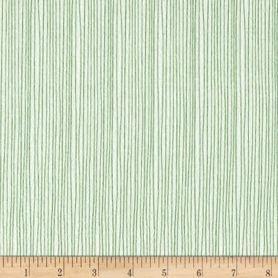 Moda Red Dot Green Dash Brushed Cottons Holiday Stripe Winterwhite/Green