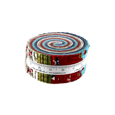 Moda Snow Much Fun Jelly Roll